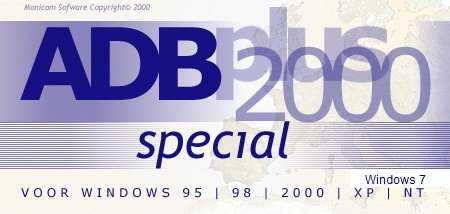ADBplus 2000 Special netwerk 4 gebruikers (remarketed)